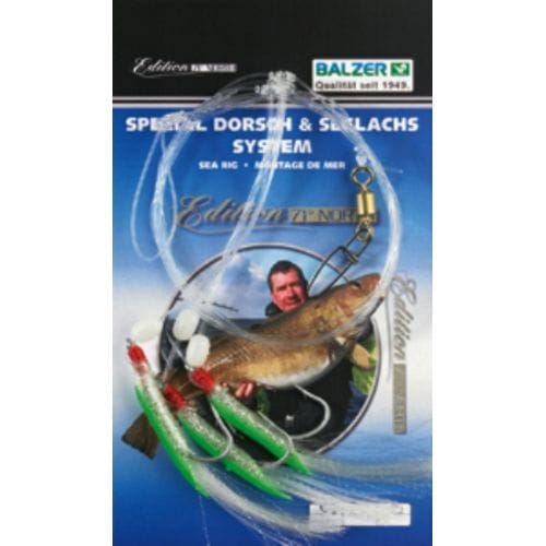 Оснастка Balzer 71° North Cod and Coalfish Green Hooks
