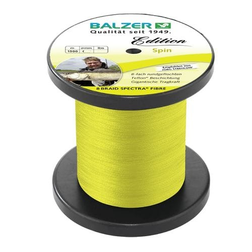 Шнур Balzer Edition Line Spin Yellow 1500m