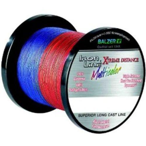 Шнур Balzer Ironline Extreme Multicolor 0.12d 1000m