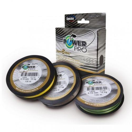 Шнур Power Pro Super 8 Slick 135m коричневый