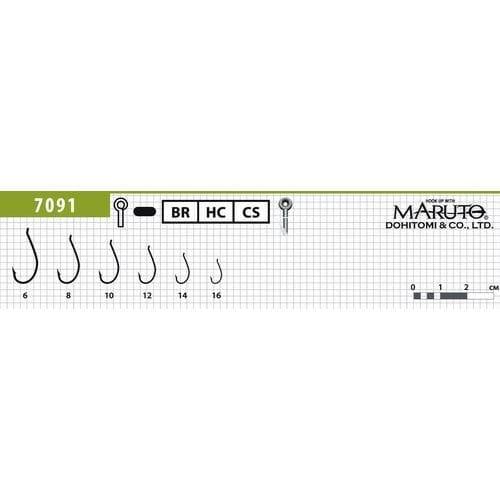 Крючки Maruto 7091 Br
