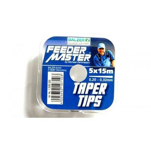 Шок-лидер Balzer Feeder Master Tapertips 0.20-0.32mm