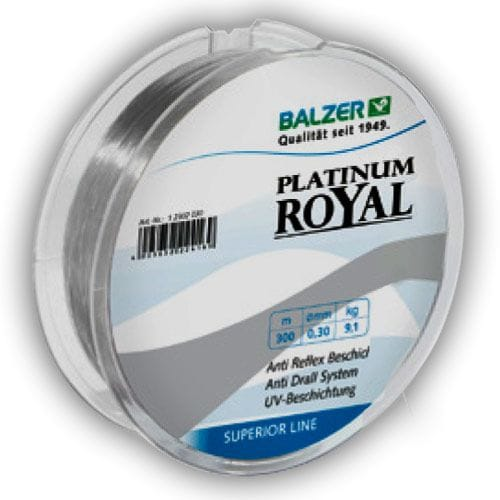 Леска Balzer Platinum Royal 150m 0.12