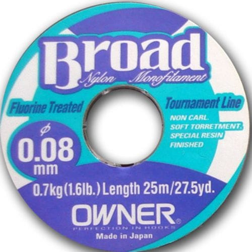 Леска Owner Broad 25m