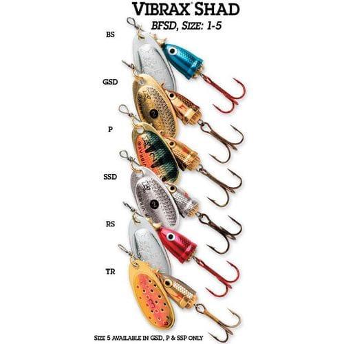 Блесна Blue Fox Vibrax Shad BFSD5