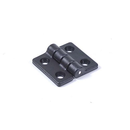 Петля пластиковая, черная, 38х35мм, C12812