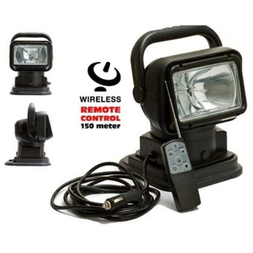 Поисковый прожектор, ксенон, черный LSWC518