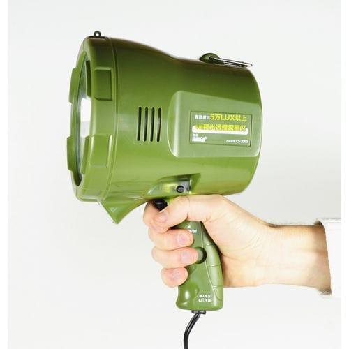 Поисковый прожектор, с ручкой, зеленый LS514 (green)