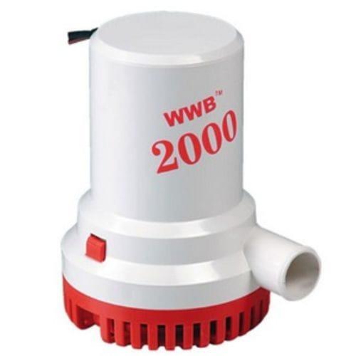 Помпа трюмная 2000GPH 12V WW-06208