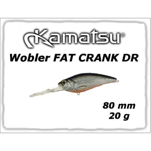 Воблер Kamatsu Fat Crank DR 80F