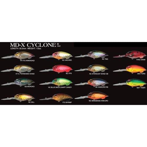 Воблер Megabass MD-X Cyclone